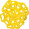 """MR. CHAIN Chain Barricades Chain 2"""" x 100' Yellow Chain"""