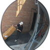 "18""Wide-Angle Convex Mirrors for Outdoors"