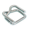 "Steel Buckles for 1/2"" Plastic Strapping"