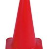 "18"" Traffic Cone Color Red Base"